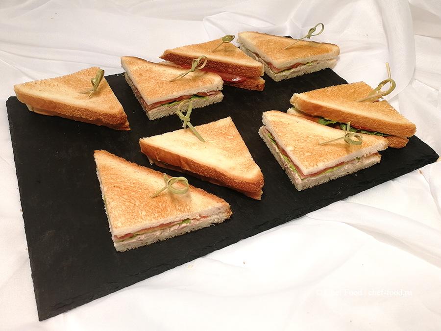 Сэндвич с тунцом mini